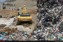 انتقال پسماندهای شهری تاکستان به جایگاه محمد آباد کلید خورد