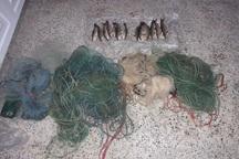 3 صیاد متخلف در تکاب دستگیر شدند
