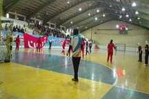 تیم های کازرون و مشهد به لیگ برتر هندبال بانوان راه یافتند