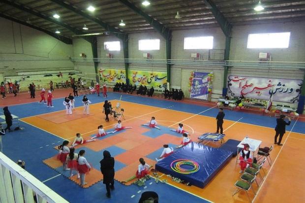 جشنواره ورزشی بانوان در شوط برگزار شد