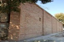 دیوار شمالی خانه تاریخی سید حسین بهشتی در قزوین مرمت شد