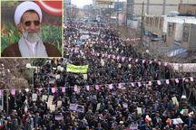 امام جمعه شهرکرد:حضور مردم در راهپیمایی 22بهمن تماشایی شد