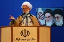 ملت ایران با الگوگیری از نهضت عاشورا در مقابل استکبار می ایستد
