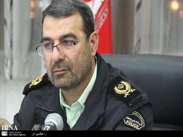 60 خلافکار حرفه ای در مشهد دستگیر شدند