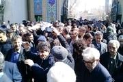 همسر دکتر علی شریعتی در شهرری به خاک سپرده شد