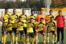 تیم شهرداری ماهشهر برابر دیگر تیم خوزستانی لیگ یک شکست خورد
