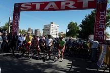 مرحله پنجم تور دوچرخه سواری ایران-آذربایجان از سرعین آغاز شد