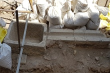 آبراه قدیمی در عالی قاپوی اصفهان کشف شد