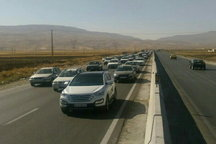 ترافیک سنگین جاده های مازندران را قفل زد