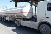 توقیف تریلر حامل 33 هزار لیتر سوخت قاچاق در شیراز