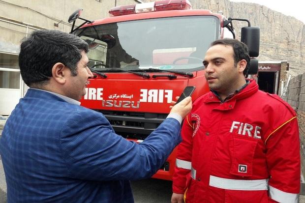 606 ماموریت آتش نشانی در ماکو انجام شد