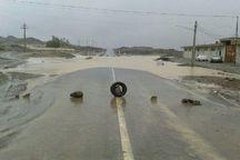 سیلاب و طغیان رودخانه راه فنوج - کتیج را بست