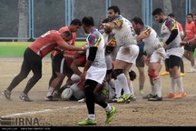 شیراز میزبان رقابت های راگبی کشور شد