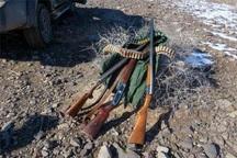سه شکارچی در میاندوآب دستگیر شدند