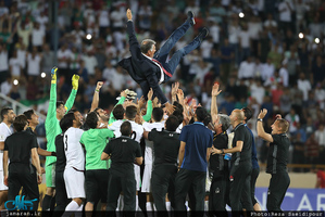 صعود ایران به جام جهانی 2018 روسیه-