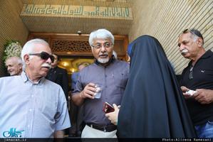 مراسم بزرگداشت پدر مصطفی تاجزاده در مسجد نور تهران