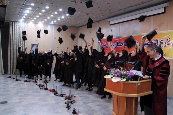 جشن دانشآموختگان پزشکی ورودی 88 دانشکده بینالملل دانشگاه علوم پزشکی گیلان