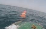 شلیک موفق موشک کروز از زیردریایی کلاس غدیر+ عکس