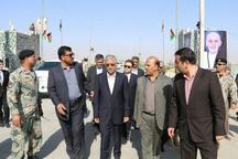 سفر معاون استاندار سیستان و بلوچستان وهیات همراه به افغانستان