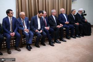 دیدار نخست وزیر ارمنستان با رهبر معظم انقلاب