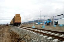 دومین قطار باری روسیه به بارانداز راه آهن آستارا وارد شد