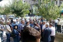 بازنشستگان گروه ملی در اهواز خواستار مطالبات خود شدند