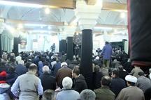 برگزاری مراسم عزاداری شهادت حضرت زهرا(س) در مسجد شیخالاسلام
