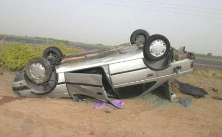 واژگونی خودروی سواری در کوهپایه اصفهان سه کشته برجا گذاشت