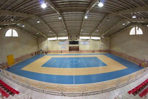 چهار سالن ورزشی در مناطق کم برخوردار قزوین ساخته میشود