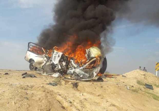 سانحه رانندگی در استان بوشهر چهار فوتی برجای گذاشت