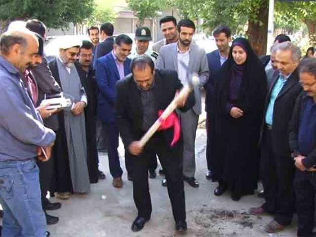 عملیات اجرایی پروژه فاضلاب شهرضا آغاز شد