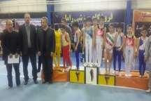 مسابقه ژیمناستیک شمال غرب کشور در سقز پایان یافت