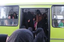 تمام اتوبوس های مسافربری مهریز از رده خارج است
