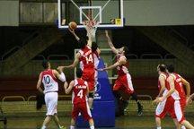 نبوغ اراک به مرحله یک چهارم نهایی بسکتبال شمال کشور راه یافت