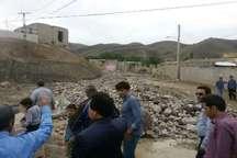 سیل به تاسیسات زیربنای و بخش کشاورزی خراسان شمالی خسارت زد