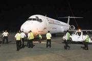 پرواز تهران - بوشهر در شیراز نشست