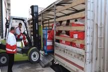 محموله کمک های هلال احمر آذربایجان شرقی به لرستان ارسال شد