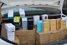 44 گوشی هوشمند قاچاق در سنندج کشف شد