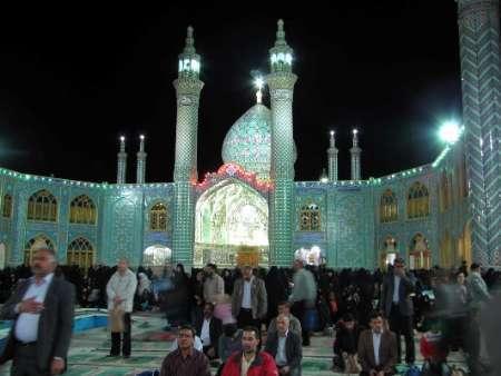 آستان مقدس امامزادگان عونبنعلی و زیدبن علی(ع) میزبان احیاداران تبریزی