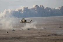 طرح 6 کیلومتری دیوار آتش در رزمایش اقتدار97نزاجا اجرا شد