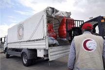 1000 بسته غذایی از استان مرکزی به گلستان ارسال شد