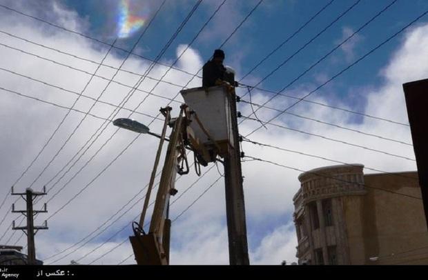 510 میلیون تومان به تأسیسات برق پاوه خسارت وارد شد