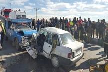 حادثه رانندگی دراتوبان قزوین- رشت منجر به مصدومیت هشت نفر شد