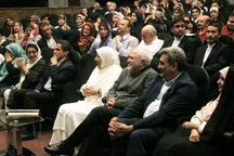 حضور ظریف و همسرش در کنسرتی برای سیل زدگان + تصاویر