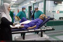 ارائه خدمات رایگان بیمارستان حضرت ابوالفضل (ع) کرمانشاه به مردم