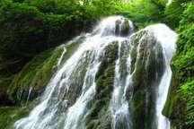 کبودوال تنها آبشار خزه ای ایران در گلستان