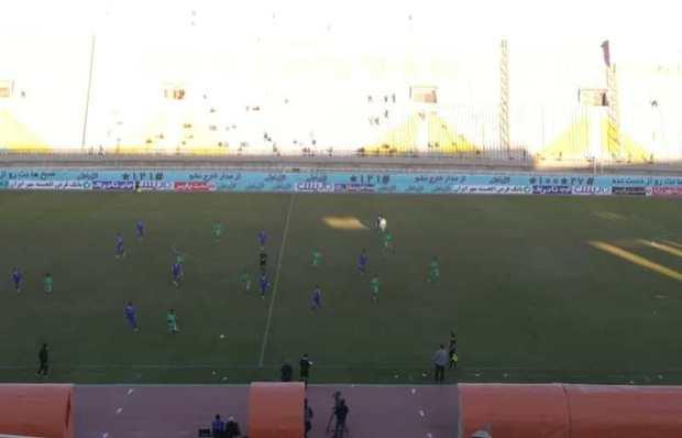 استقلال خوزستان نیم فصل دوم لیگ برترفوتبال رابا باخت آغازکرد