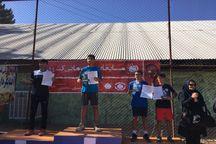 مسابقات تنیس قهرمانی کشور در مشهد پایان یافت