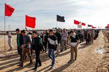 هزار دانش آموز یزدی از مناطق عملیاتی دفاع مقدس بازدید کردند