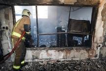 انفجار کپسول گاز در اهواز حادثه آفرید